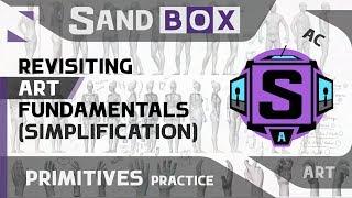 (Человек Упрощение) Сессия 45 - Creative Sandbox [RUS/eng] (Пересмотр основ рисования)