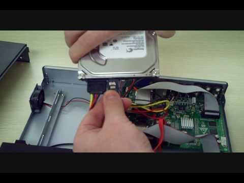 How To Zmodo H9008uv Hard Drive Installation Cctv