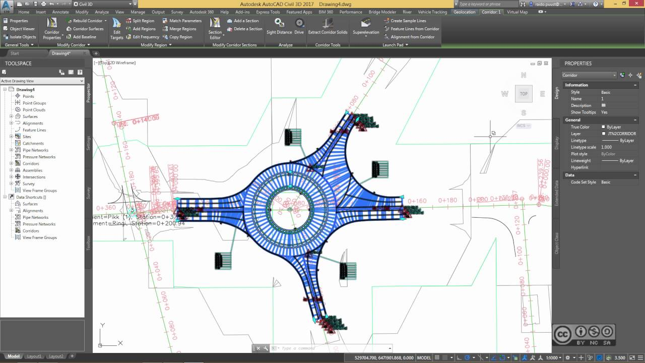 AutoCAD Civil 3D 2017 - Vehicle Tracking (overview)