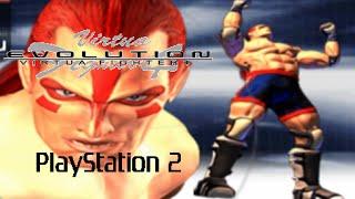 Virtua Fighter 4: Evolution playthrough (PS2)