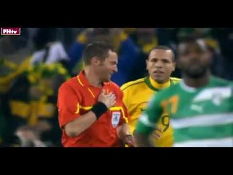 World Cup 2010 Most Shocking Moments 19-Luis Fabiano Handball