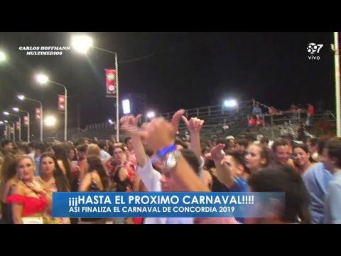 Concordia eligió a su reina y premió a las comparsas más brillantes del carnaval