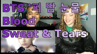 BTS (방탄소년단) '피 땀 눈물 (Blood Sweat & Tears) Official MV (REACTION 🔥)