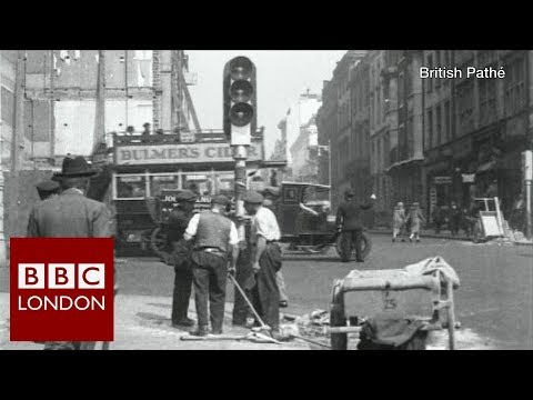 150 years since the world's first traffic light – BBC London News