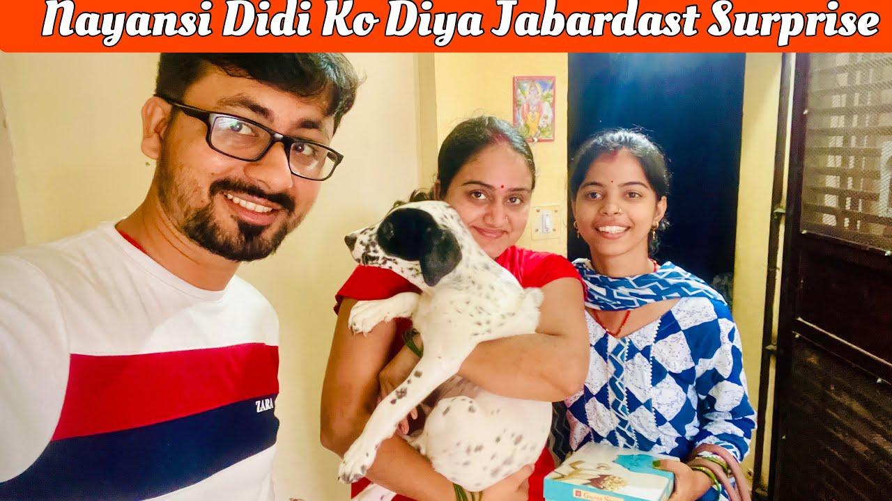 दिल्ली आने के बाद Nayansi दीदी को दिया ऐसा Surprise की वो ज़िन्दगी भर नहीं भूलेगी 🥰🥰