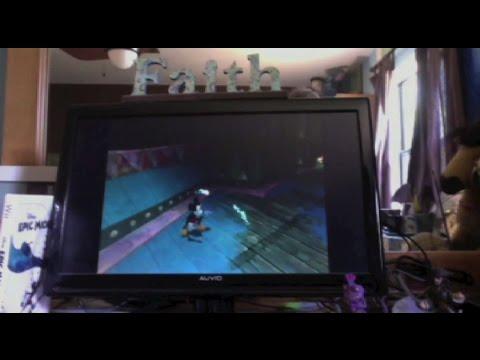PixarShark Plays Epic Mickey - Part 4: LEROOOOOOY JE--OWW