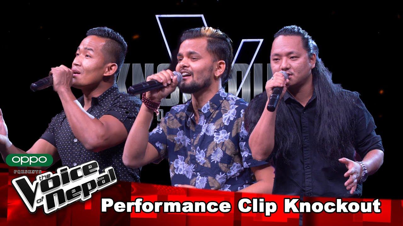 Ishan Vs Bijay Vs Jenish   Knockout  The Voice of Nepal Season 3 - 2021