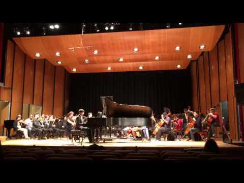 Daniel David Pollorena Marquez - Chopin Piano Concerto no. 1 Op. 11 E minor (Dress Rehearsal) #3