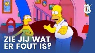 Foutje bedankt bij The Simpsons