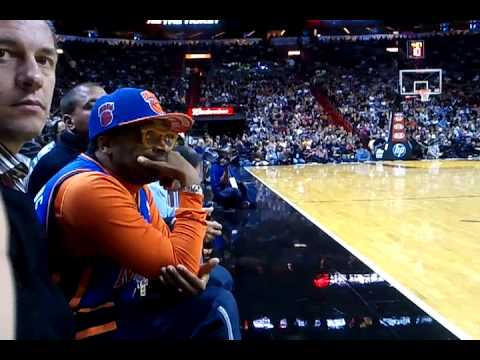 Golden Court Side Seats Spike Lee Flo Rida Youtube