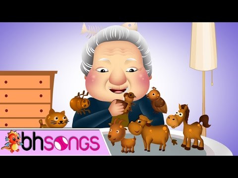 There Was An Old Lady Who Swallowed a Fly Song With Lyrics Nursery Rhymes TV