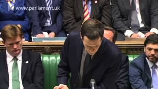 UK Parliament - Chancellor delivers 2014 Autumn Statement