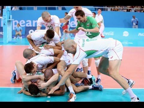 Volleyball European Games Baku 2015 - Bulgaria - Poland (Semifinal)