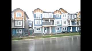 drive by of 1244 Ravenswood Drive Airdrie Alberta