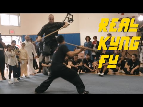 Awesome Chinese Martial Arts Competition in NY