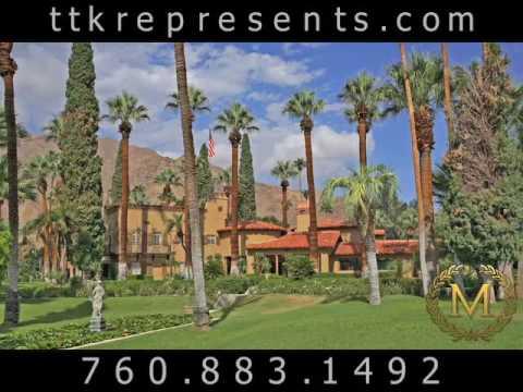 Historic Estates Palm Springs | Palm Springs Estate California