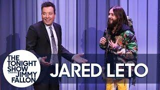 Jared Leto Hitchhikes Through The Tonight Show