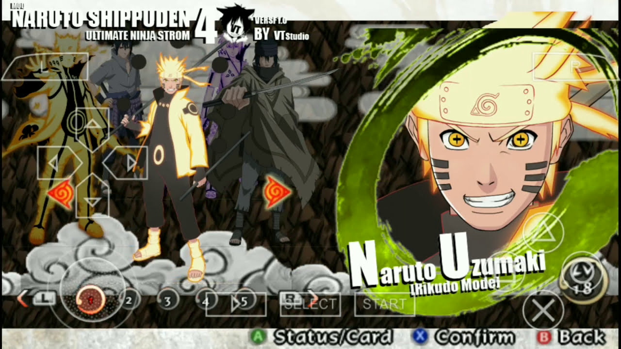 download naruto ultimate ninja storm 2 ppsspp android