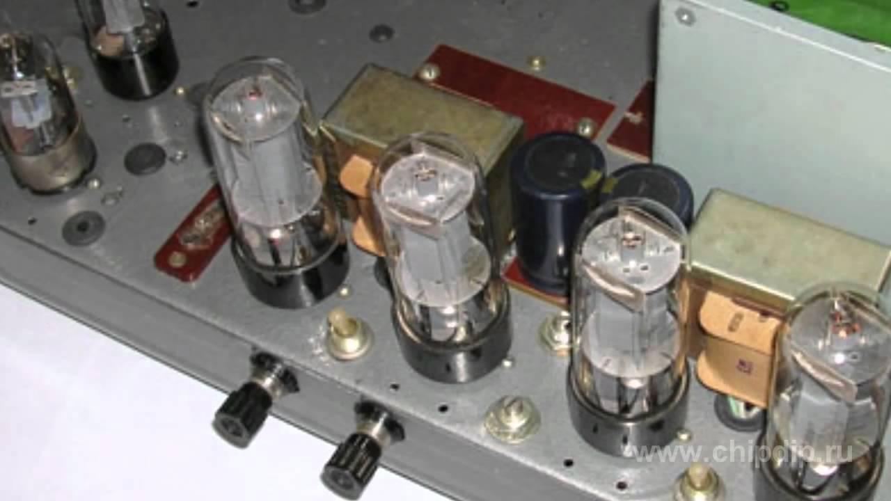 схема усилителя на лампах 6п3с