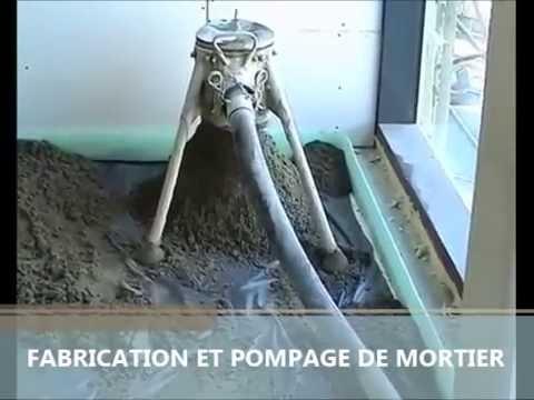 Pompe a chape et b ton utiform hd50 youtube - Pompe vide cave pour piscine ...