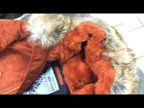 видео: Обзор зимней куртки n3b nord storm husky ii patters clay