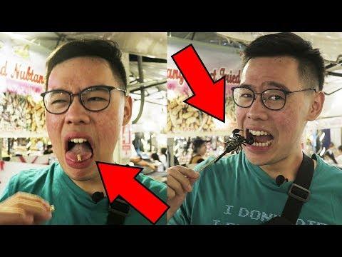 MAKAN SCORPION & BELATUNG DI BANGKOK ! MANTEP DAH !