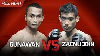 [HD] Gunawan vs Zaenuddin || One Pride Pro Never Quit #27