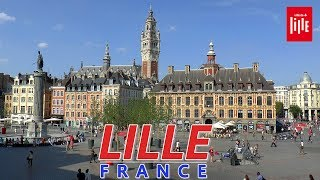 LILLE │ FRANCE - Complete walking tour of Lille. HD