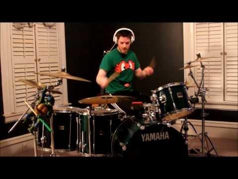 Teenage Mutant Ninja Turtles Theme Song (Drum Cover)
