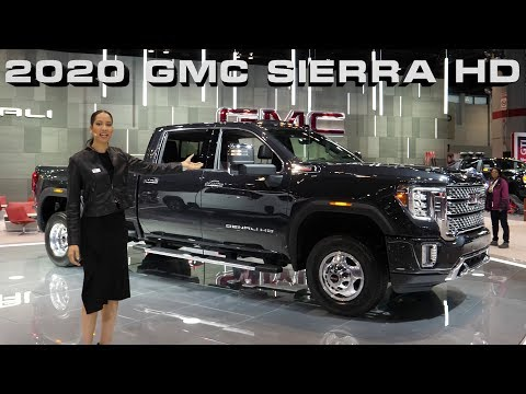 🇺🇸 NEW 2020 GMC Sierra AT4 2500 and Denali 3500 HD Dually Pickup Trucks at 2019 Chicago Auto show