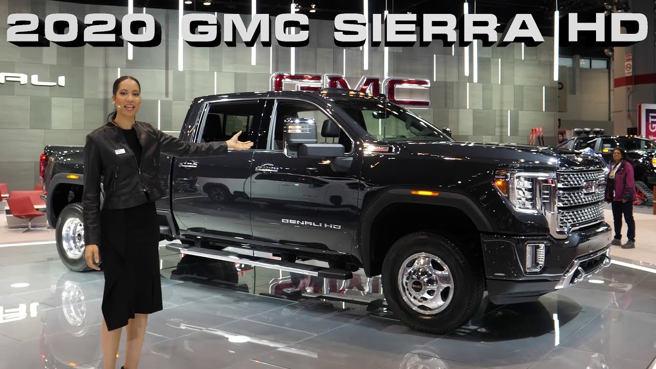 NEW 2020 GMC Sierra AT4 2500 and Denali 3500 HD Dually ...