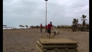 Der FCN im Trainingslager: Parcours mit Dave Bulthuis