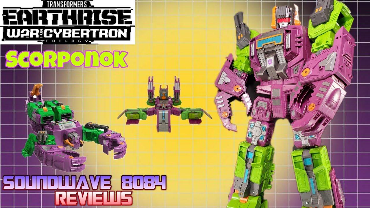 Transformers WFC Earthrise Scorponok Review By Soundwave 8084
