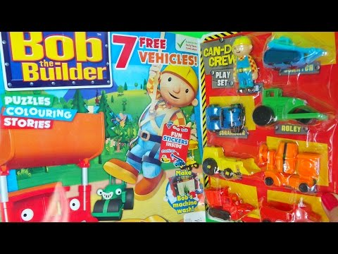 bob the builder meet roley talking