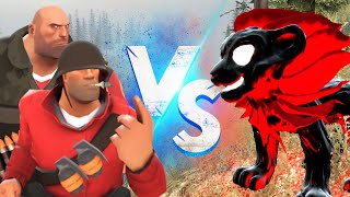 เฮวี้ พบกับ Cartoon Lion จาก Trevor henderson | Garry's Mod Multiplayer Gameplay