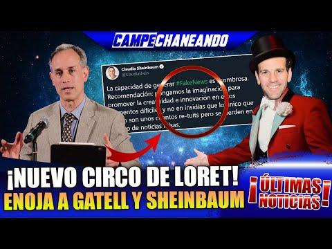 ¡ÚLTIMAS NOTICIAS! LORETITO ARMA CIRCO QUE HACE ENOJAR AL DOCTOR HUGO Y A CLAUDIA SHEINBAUM