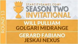 SCGINVI Round 13 Will Pulliam vs Gerard Fabiano Standard