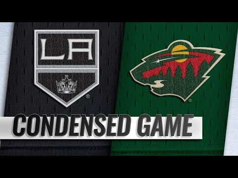 Los Angeles Kings vs Minnesota Wild – Oct.25, 2018 | Game Highlights | NHL 18/19 | Обзор матча