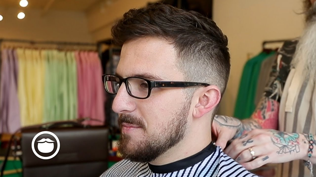 mustache styles for thin hair haircut and beard trim for thin beards 6173