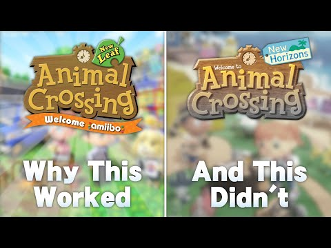 How Animal Crossing New Leaf Made the PERFECT Update (And Why New Horizons is Failing)