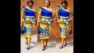 Creative and Unique Ankara Styles 2019: Trendy And stylish African Clothing to Wow this season