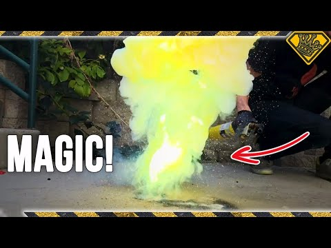 How To Make GREEN Flash Powder