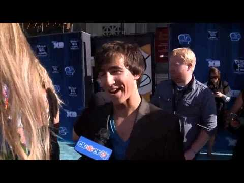 Vincent Martella Interview- The Voice Of Phineas At Phineas & Ferb Premiere.