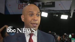 Senator Cory Booker joins ABC News Live to discuss debate performance l ABC News