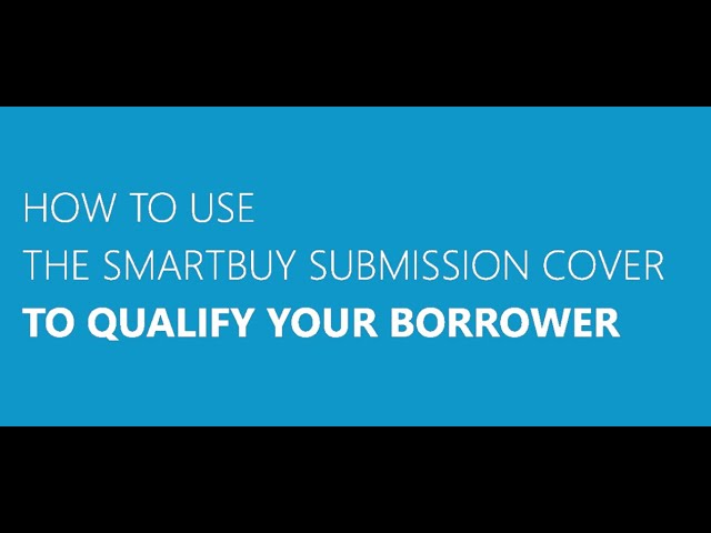 SmartBuy Submission Cover Training