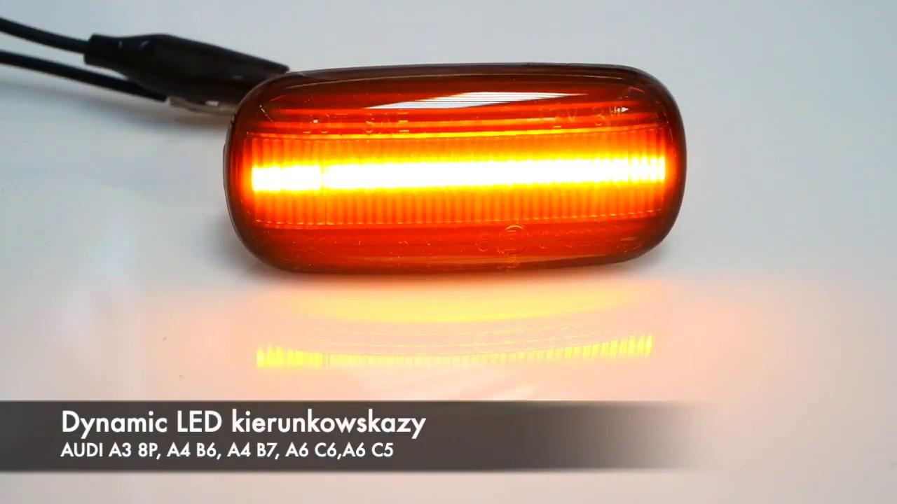 Dynamic Led Kierunkowskazy Audi A3 8p A4 B6 A4 B7 A6 C5 A6 C6