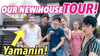 OUR NEW HOUSE TOUR (DREAM COME TRUE) | Medyo Maldito