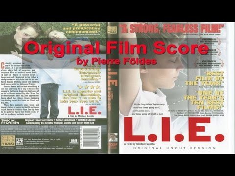 L.I.E. (Long Island Expressway) Music Score by Pierre Földes (RARE)