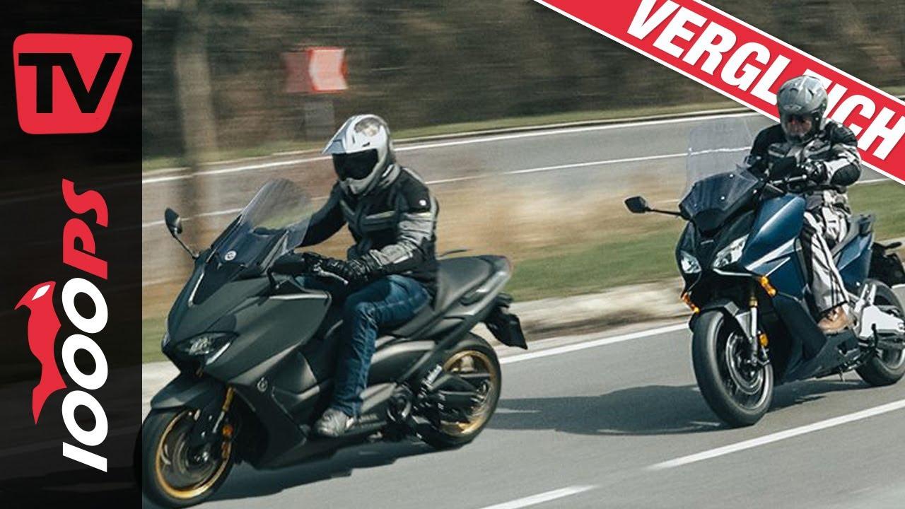 Honda Forza 750 gegen Yamaha TMAX Tech MAX Vergleich - welcher Roller für wen?