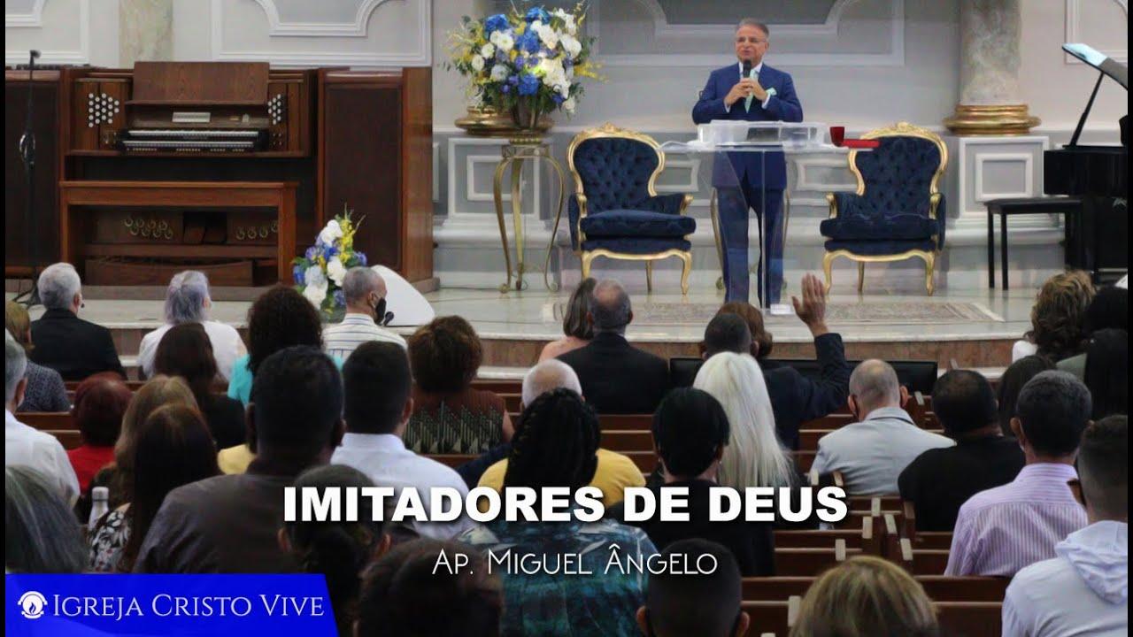 Imitadores de Deus- Domingo - Manhã - 01/11/2020